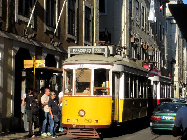 4 dias en Lisboa - Tranvía