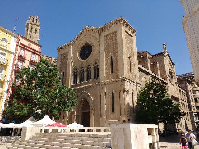 Lleida - Plaza Sant Joan