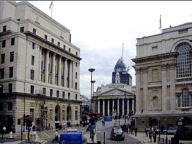Un paseo por la City, la zona financiera de Londres
