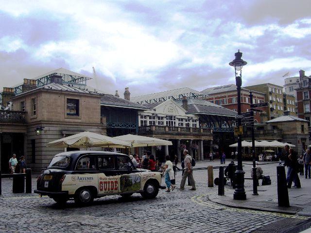 Cómo visitar el Barrio de Covent Garden y la Piazza