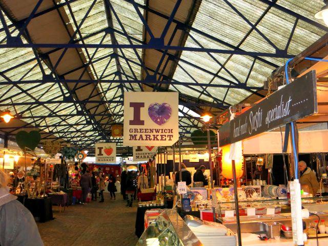 Londres - Greenwich Market