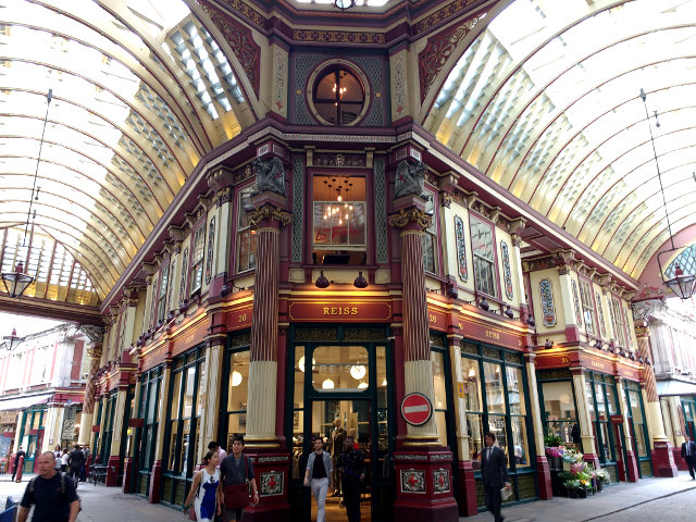 Londres – Leadenhall Market