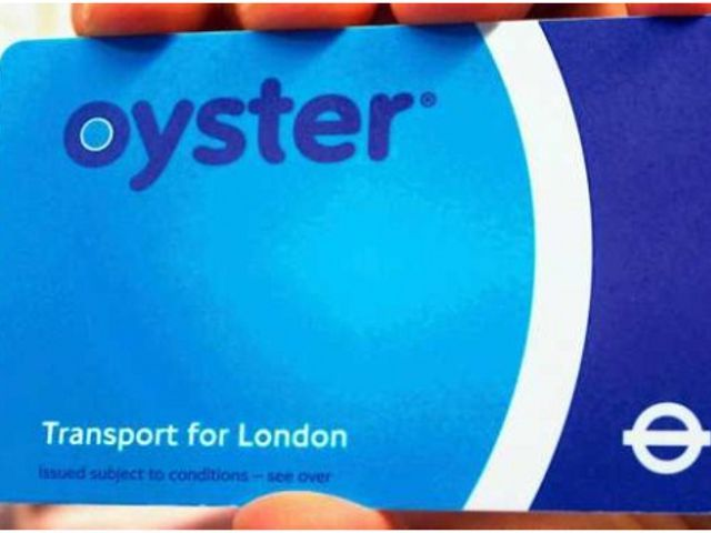 Londres - Oyster Card
