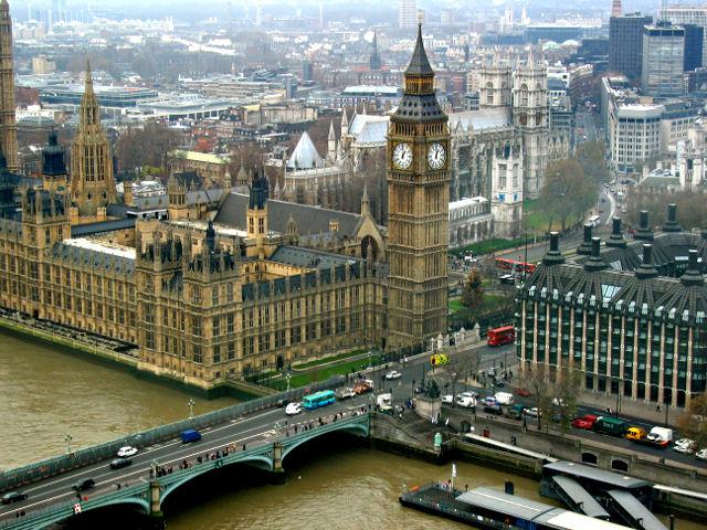 Londres - Parlamento desde London Eye