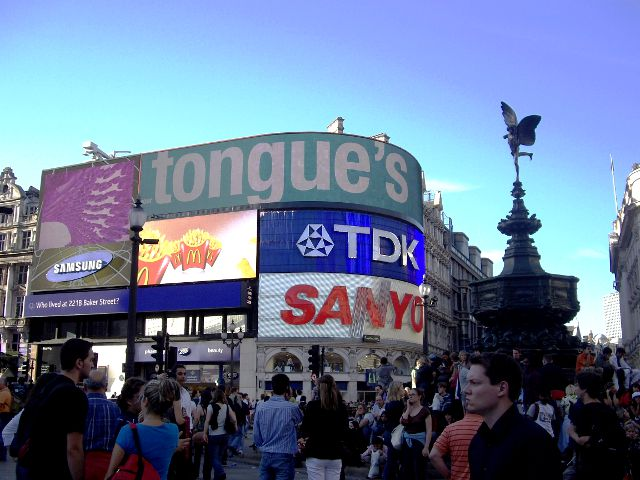 Londres - Picadilly Circus