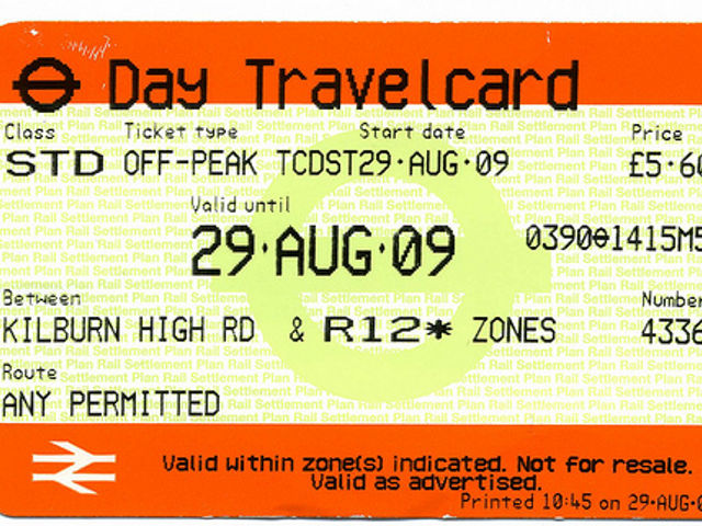 Londres -Travelcard