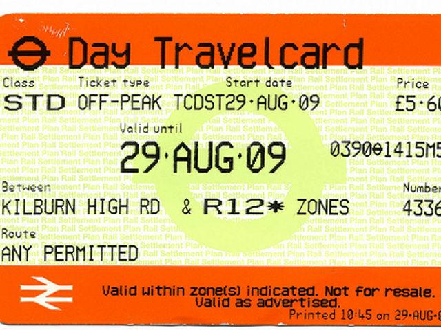 Travelcard y Oyster Card para moverse por Londres