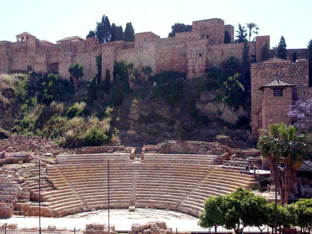 que ver en Málaga - Alcazaba