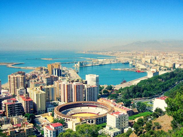 Málaga - Vistas desde el Castillo