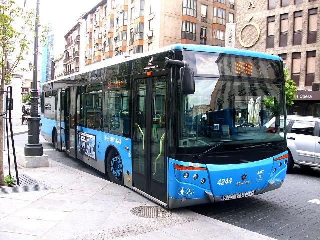 Madrid - Autobús