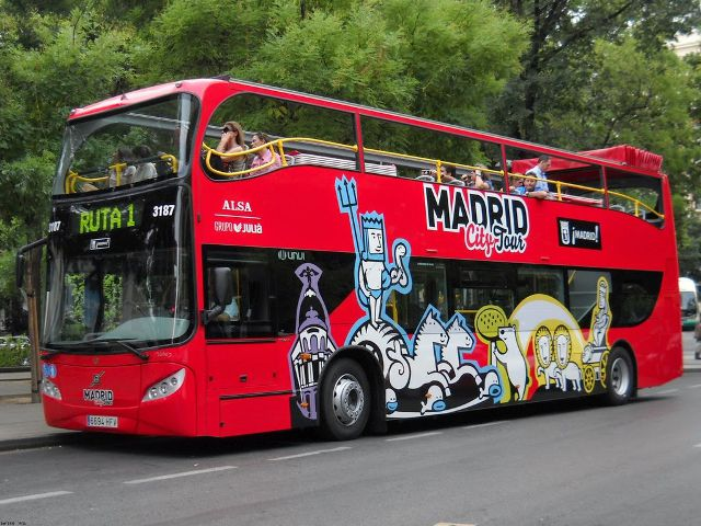 Un paseo en Madrid City Tour, el Bus Turístico de Madrid