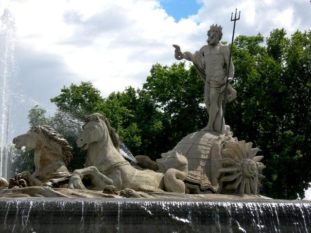 Madrid - Fuente Neptuno