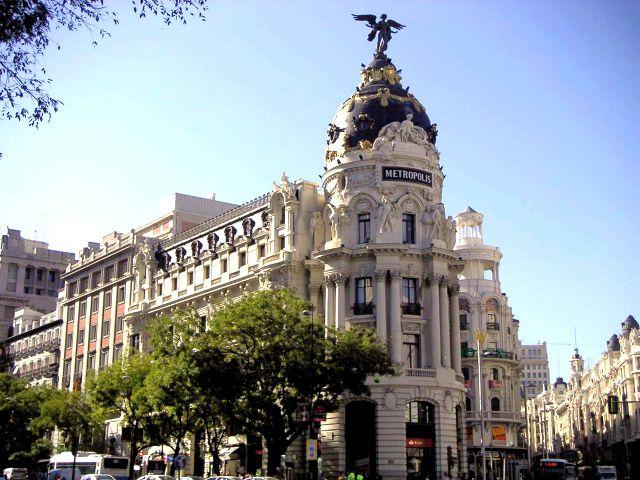 Que hacer en Madrid - Gran Vía - Edificio Metropolis
