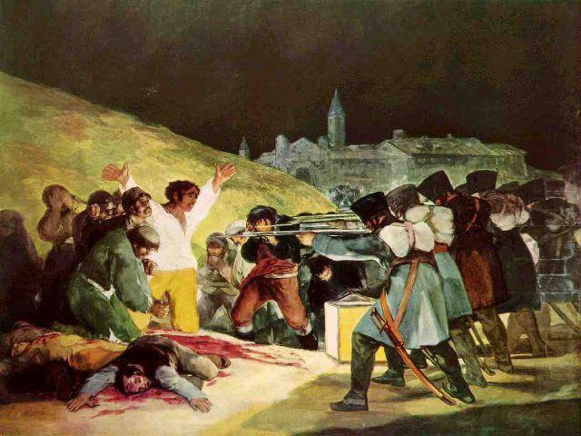 conocer Madrid - Museo Prado - Fusilamiento 3 Mayo