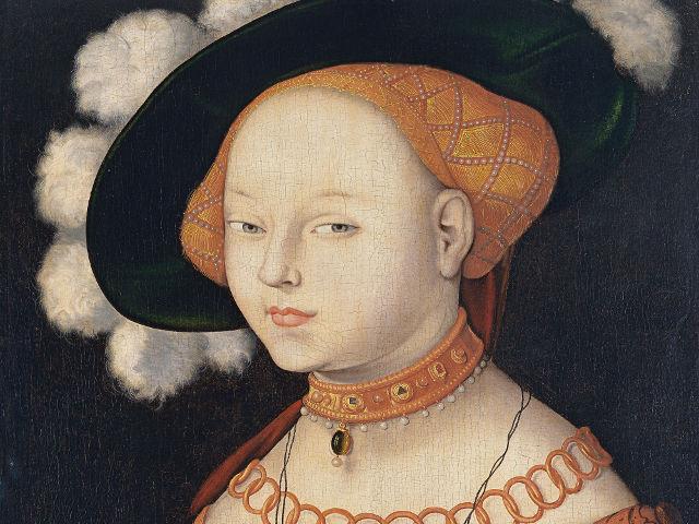 Madrid - Museo Thyssen - Retrato de una Dama