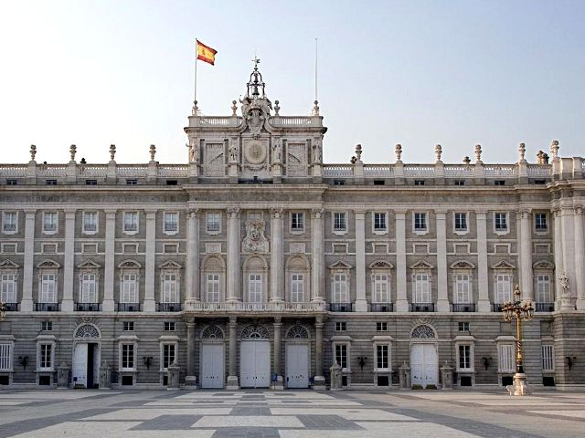 Madrid - Palacio Real - Exterior