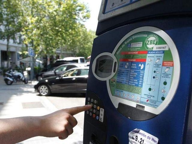 Madrid - Parquímetro