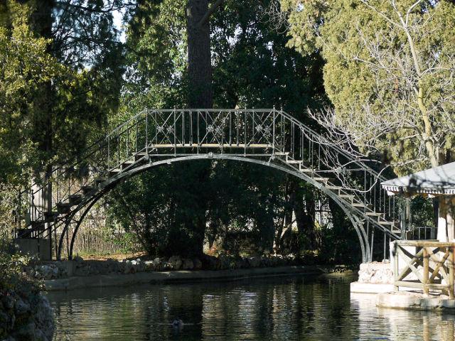Madrid - Parque del Capricho - Puente de Hierro