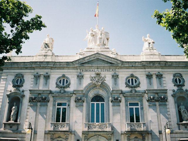 Madrid - Plaza Villa Paris - Tribunal Supremo