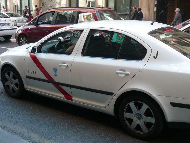 Madrid -Taxi