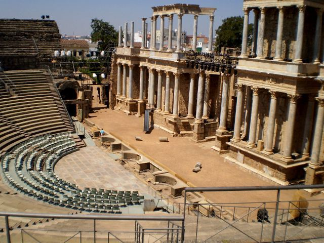El Teatro y el Anfiteatro Romanos de Mérida