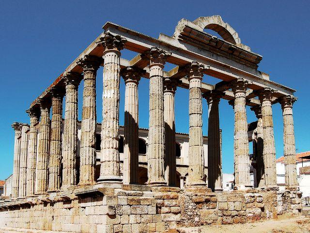 Visitar Extremadura - Merida - Templo de Diana