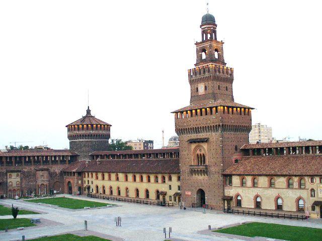 Milán - Castello Sforzesco