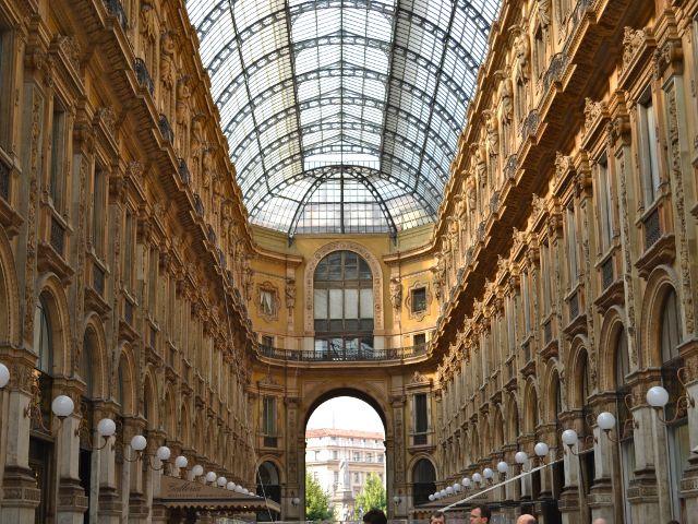 que visitar en Milán - Galleria Vittorio Emanuele III