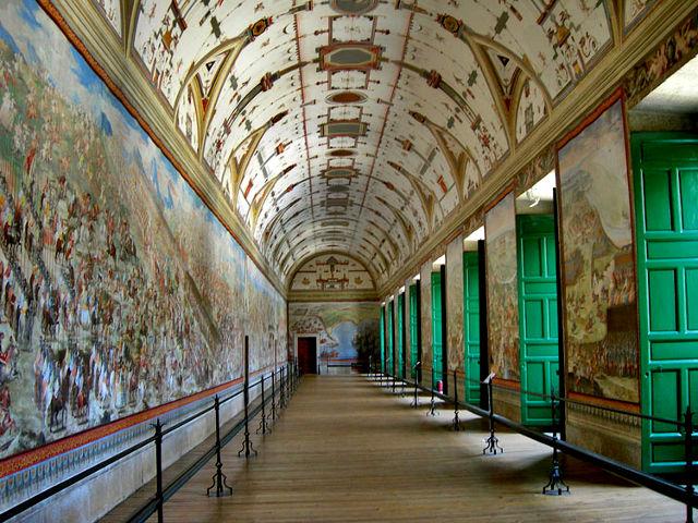 Monasterio El Escorial - Sala de las Batallas