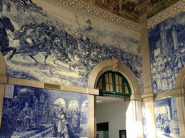 Oporto - Estacion San Bento - Interior