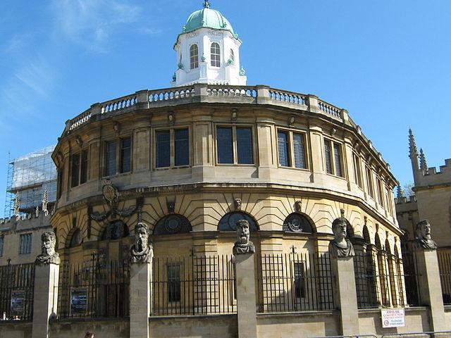 Oxford - Sheldonian Theatre