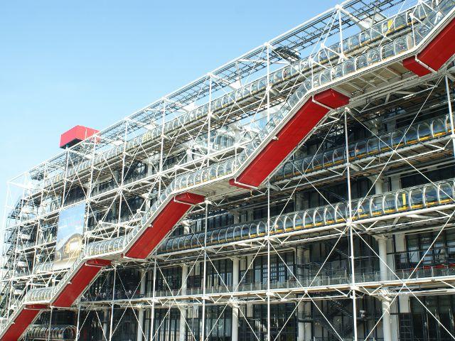 Disfrutar el arte moderno en Centro George Pompidou de París