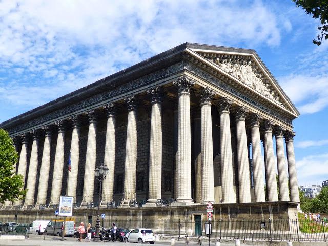 La Iglesia de la Madeleine de París, ¿griega o barroca?