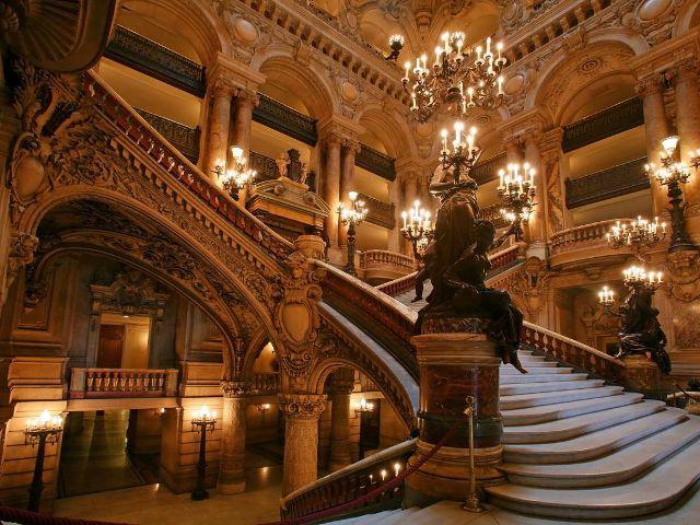La Ópera de París, la obra maestra de Charles Garnier