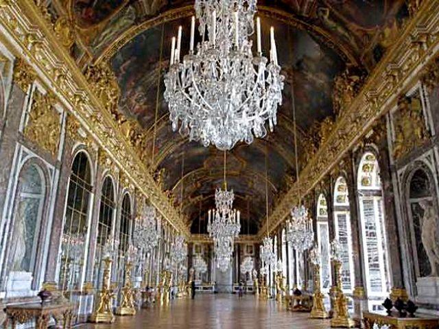 París - Palacio de Versalles - Galería de los Espejos