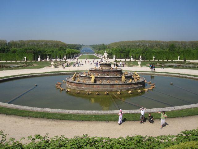 Paris - Jardines Palacio Versalles