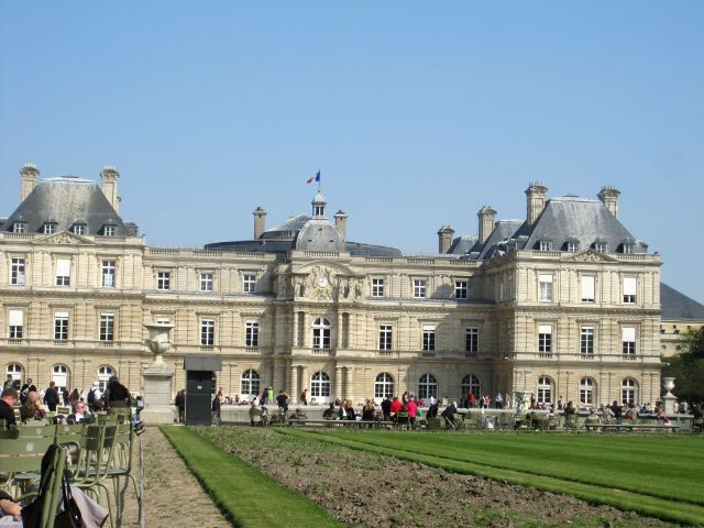 Paris - Jardines de Luxemburgo