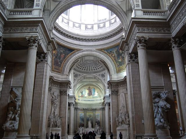 Paris - Pantheon - Interior