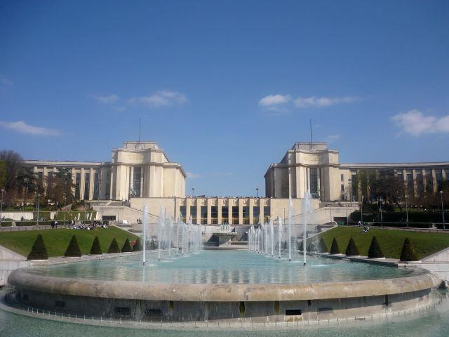 Paris - Plaza del Trocadero