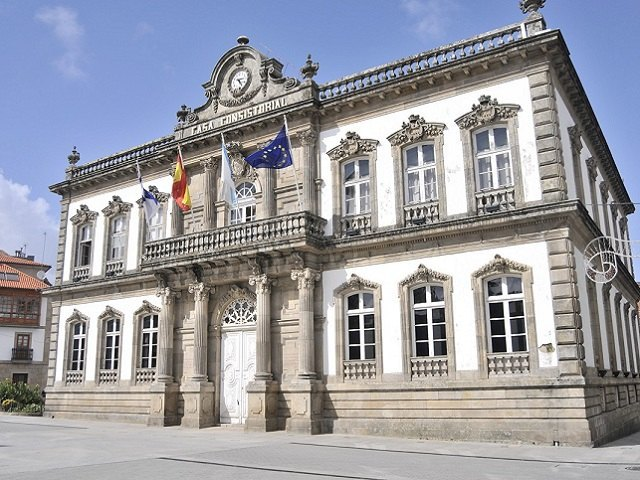 Que ver en Pontevedra en 1 dia - Plaza de España