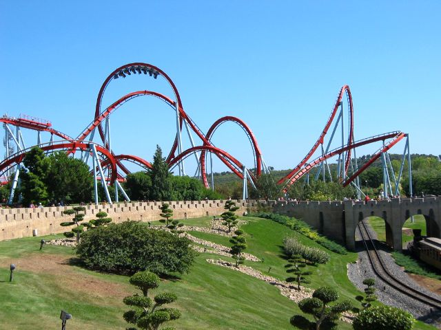 Port Aventura - Dragon Khan