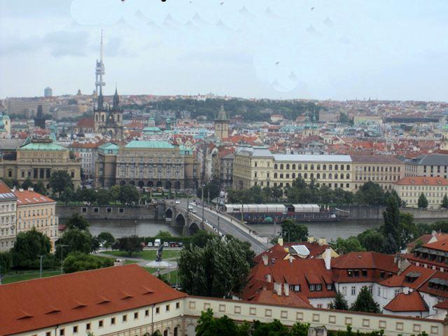 Praga - Castillo de Praga - Vistas
