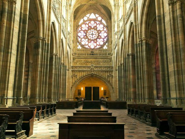 Praga - Catedral de San Vito - Interior