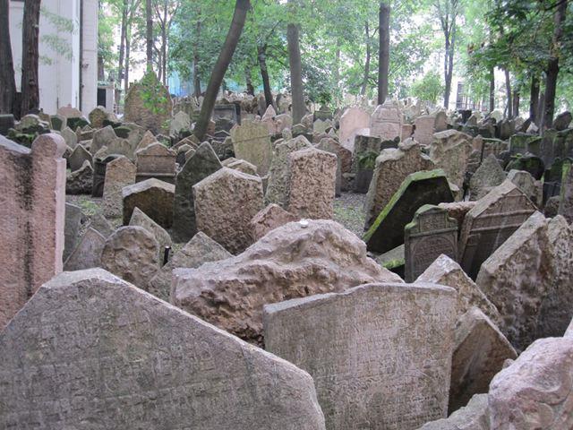 Visitar Praga en dos dias - Cementerio Judio