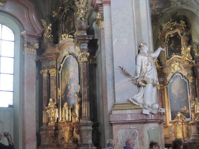 Praga - Iglesia de San Nicolás - Interior