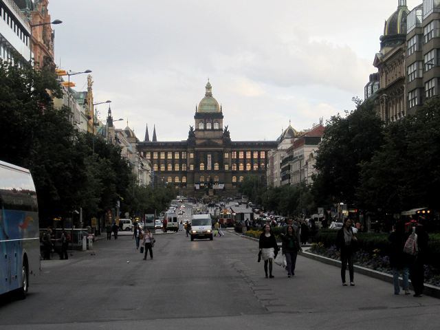 Praga - Plaza Wenceslao