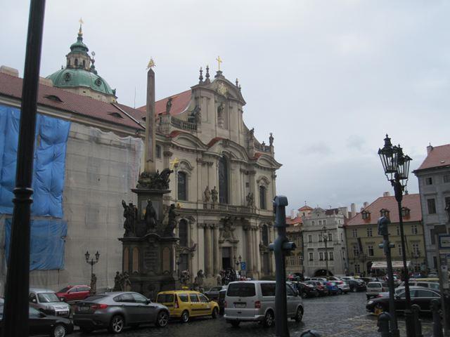 Praga - Plaza de la Ciudad Pequeña
