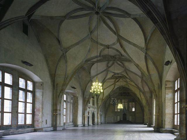 Praga - Sala Vladislav