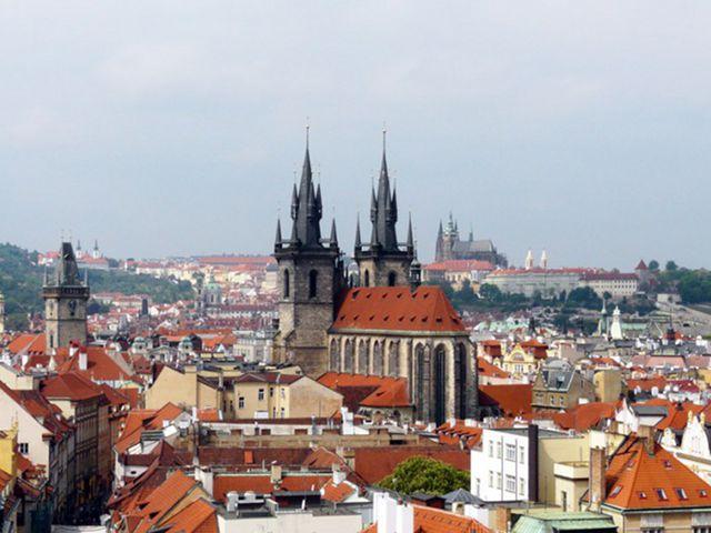 Praga - Torre Polvora - Vistas