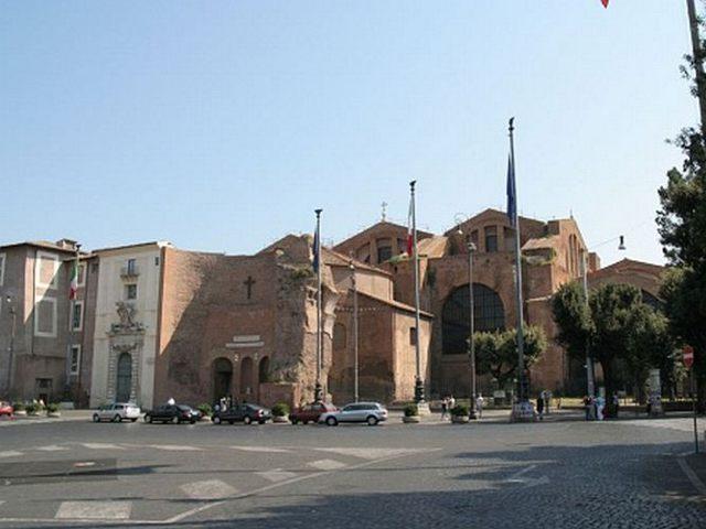 Roma - Basilica Santa Maria Angeles - Exterior
